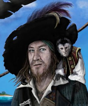 POTC: Captain Barbossa an Jack by Abydell