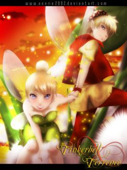 TINKERBELL and TERRENCE by annria2002