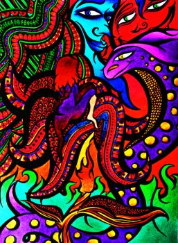 Psychedelic Art Favourites By Kine80 On Deviantart