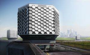 HORIZON - Old Graphene Research Labs I-III by IllOO