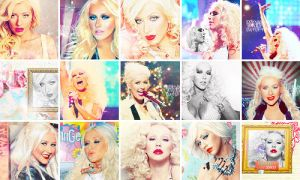 Christina Aguilera icons 8 by Missesglass