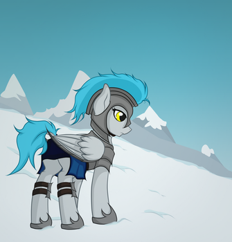 Through the Snowy Mountains by DerpyApples