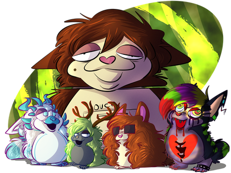 Tattletail Family by kibadoglover45