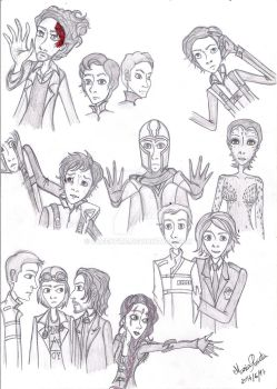 X-Men - First Class and Days of Future Past by queenfire