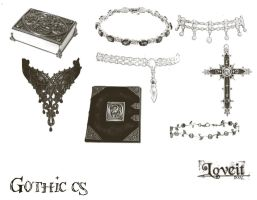 Gothic ps2 by BrushHaven1
