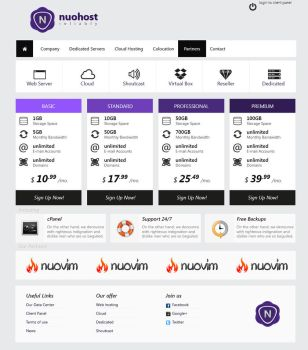 Nuohost by pressup