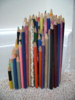 Structure of Pencils 1 by bec66ky