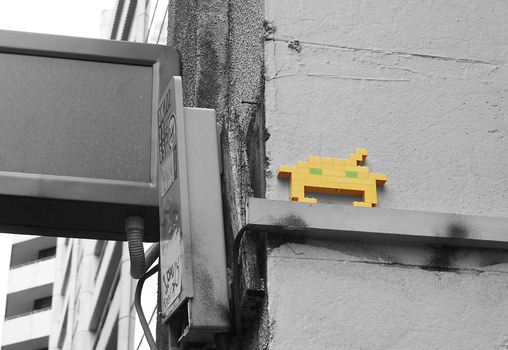Space Invader by Clankzappah