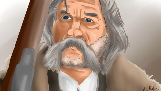 The Hateful Eight.Kurt Russell as John Ruth by grmakro87