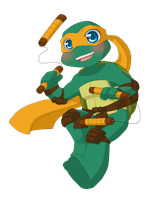 TMNT: I love being a turtle by NamiAngel