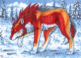 ACEO for M-u-h-a by Dragarta