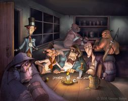 Jolly Roger's Grub and Pub by GeorgeSellas