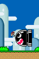 Super Mario World iPhone wallpaper - RETINA res by SolidAlexei