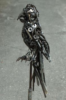 metal parrot by frequenzlos