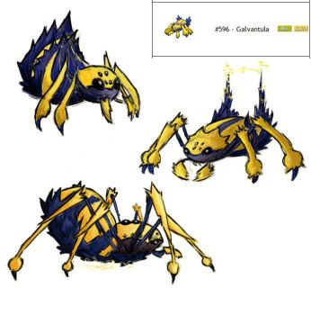 Galvantula Redesign Colored by MICHA3LT
