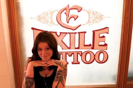 Samantha - Exile Tattoo by Zombri