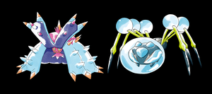 Toxapex/Araquanid Old Sugimori Style