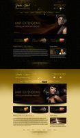 Hair Extension Wigs Web Design by bojok-mlsjr