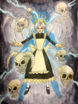 Marie The Skullgirl by Patricin