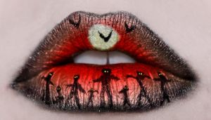 Halloween Lips 2 by KatieAlves