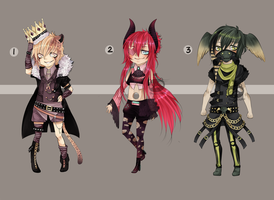 Adopts::visual Kei CLOSED by Pandastrophic