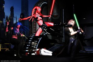Darth Talon vs Cade Skywalker by Aphrodite-NS