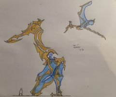 dream pterosaur guardians by TheDubstepAddict