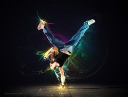 Light Dancer tutorial by Andrei-Oprinca