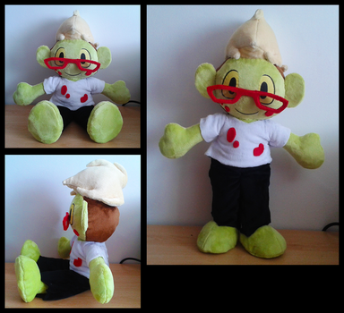 Zombie Plushie by Miss-Twila