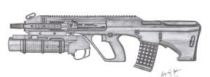 Steyr AUG A3 by CzechBiohazard