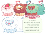 [Base] YummiBears! PSD + MS Paint Compatible by blushbun