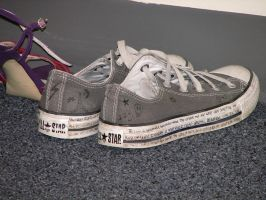 Shoes - Converse II by LithiumStock