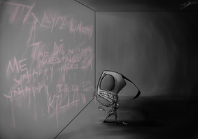 They're Unhappy... by Invader--ZIM