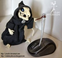 Death Of The Rats - Needle felting by yenefer