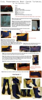 Ciel Phantomhive Boot Tutorial by animeobsession02
