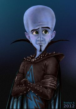 One of these days (Megamind) by eleathyra