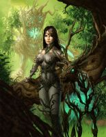 Forest Queen by johnnymorrow