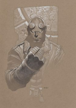 Hellboy tonal by ChristopherStevens