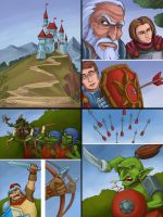 Royal Comix Part 2, first 4 pages by Badim