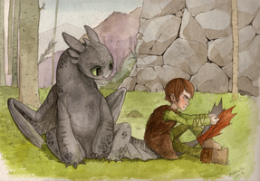 How To Train Your Toothless by Boywithmeese