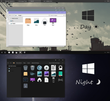 W10 Day and Night Visual Styles by ayymoko