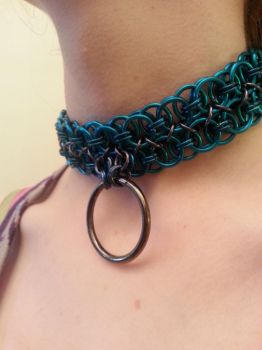 Double Strand BDSM Style Collar by CranesandChains