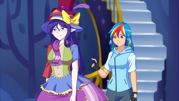 Stress Couture (Pic of the week MLPS7E14) by JonFawkes