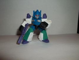 TRANSFORMERS ROBOT HEROES OVERLORD (TOY VERSION) by alx333