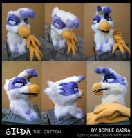 Gilda the Griffon by sophiecabra