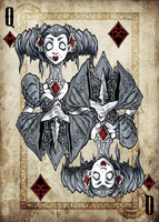 Queen of Diamonds by NoahW