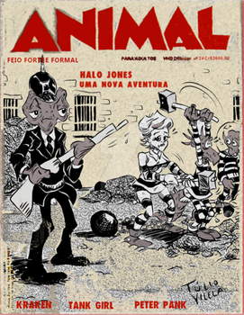 Animal: 24th Issue Fake Cover by Tulio-Vilela