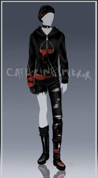 (CLOSED) Auction Adopt - Outfit 26 by cathrine6mirror