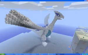 Lugia 3D Picture 2 by Miccopicco