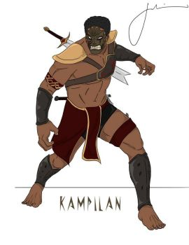 Kampilan by lifeisabench